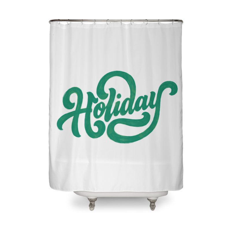 Standard Festivity Uniform Home Shower Curtain by dandrawnthreads