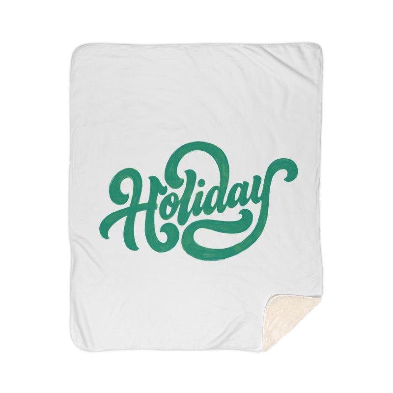 Standard Festivity Uniform Home Sherpa Blanket Blanket by dandrawnthreads