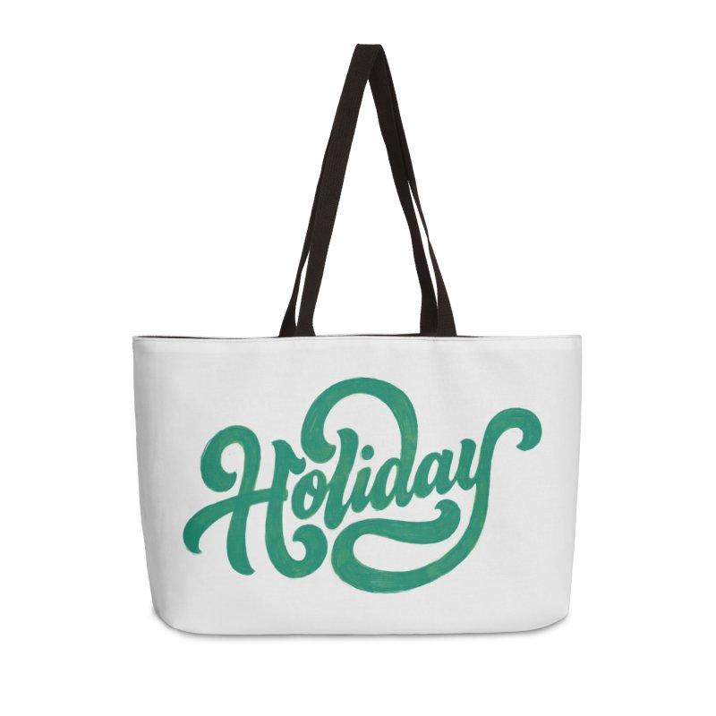 Standard Festivity Uniform Accessories Weekender Bag Bag by dandrawnthreads