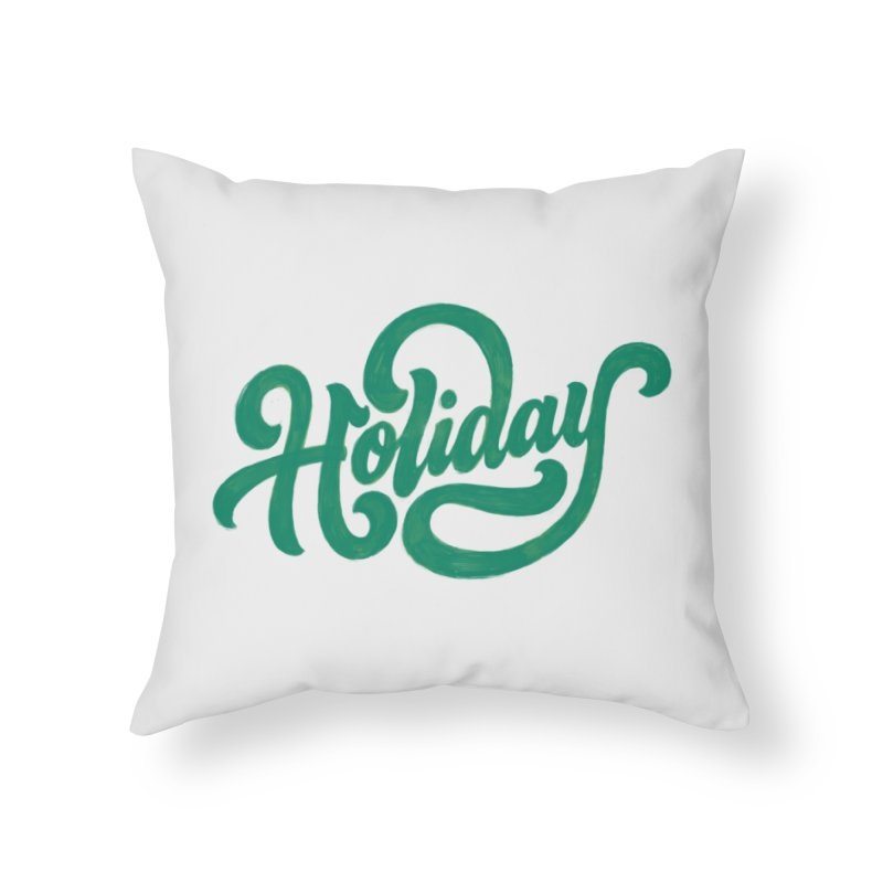 Standard Festivity Uniform Home Throw Pillow by dandrawnthreads