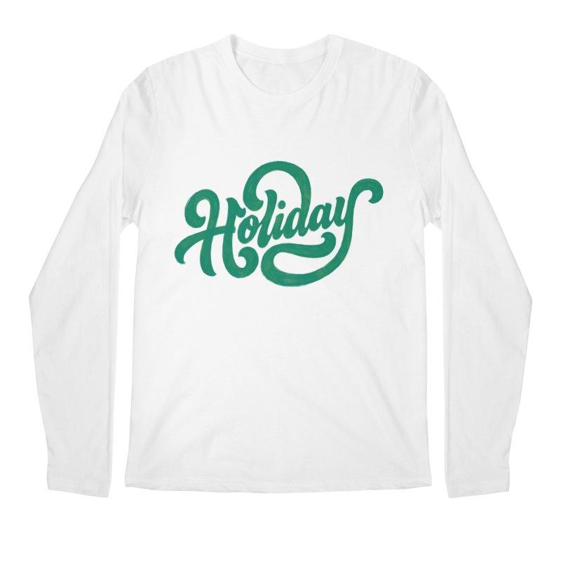 Standard Festivity Uniform Men's Longsleeve T-Shirt by dandrawnthreads