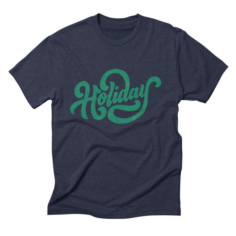 Standard Festivity Uniform Men's Triblend T-Shirt by dandrawnthreads