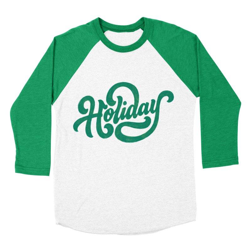 Standard Festivity Uniform Women's Baseball Triblend Longsleeve T-Shirt by dandrawnthreads