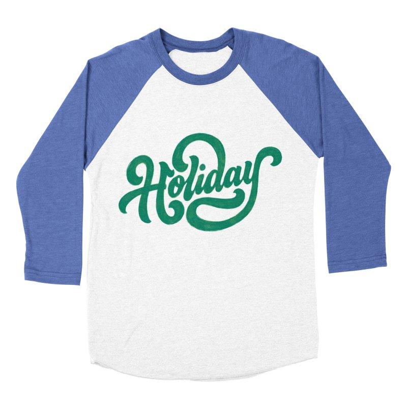 Standard Festivity Uniform Men's Baseball Triblend Longsleeve T-Shirt by dandrawnthreads