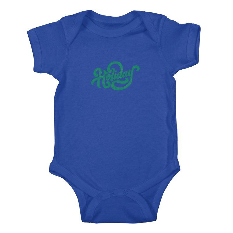 Standard Festivity Uniform Kids Baby Bodysuit by dandrawnthreads