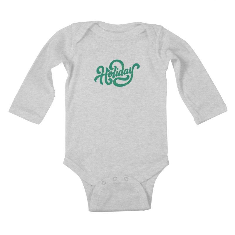 Standard Festivity Uniform Kids Baby Longsleeve Bodysuit by dandrawnthreads