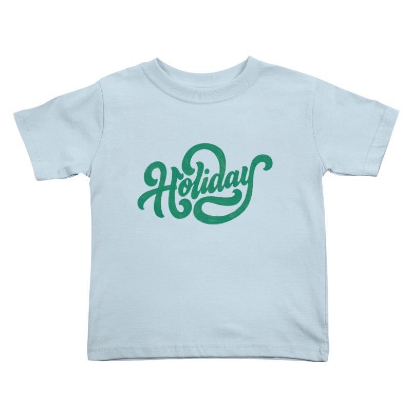 Standard Festivity Uniform Kids Toddler T-Shirt by dandrawnthreads