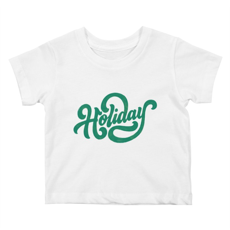 Standard Festivity Uniform Kids Baby T-Shirt by dandrawnthreads