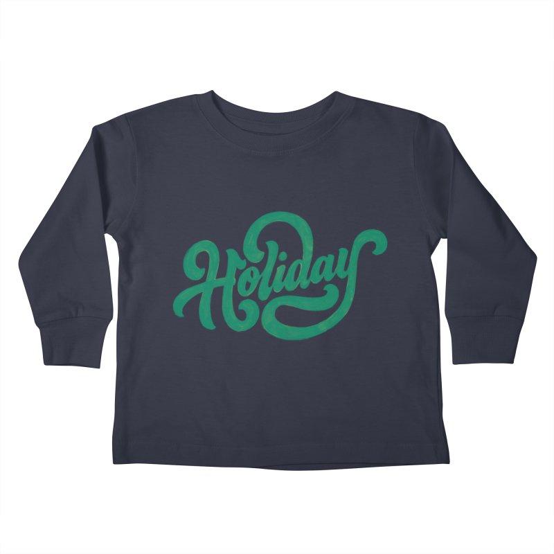 Standard Festivity Uniform Kids Toddler Longsleeve T-Shirt by dandrawnthreads