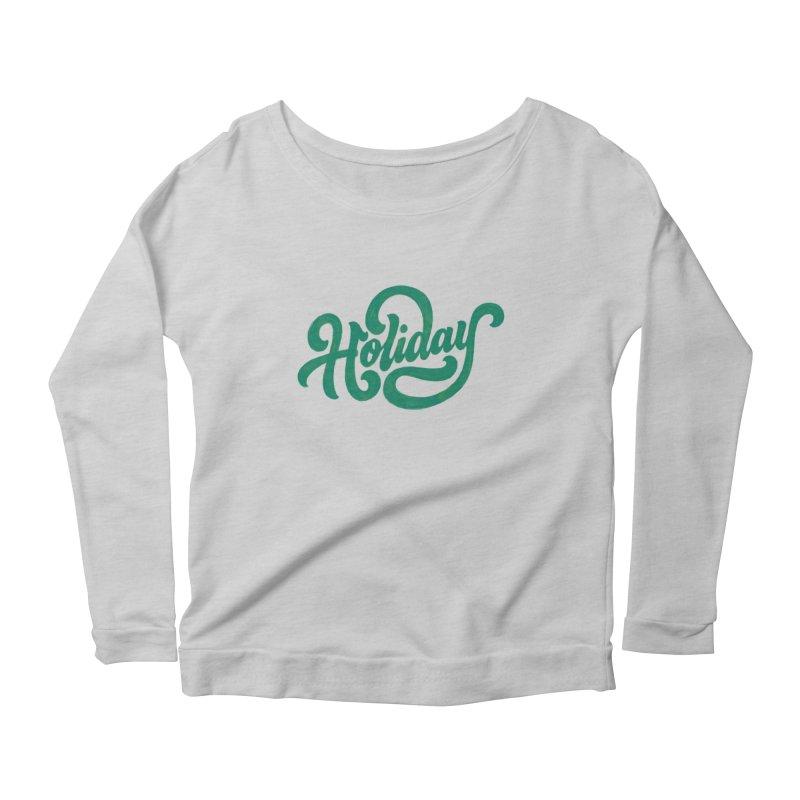 Standard Festivity Uniform Women's Scoop Neck Longsleeve T-Shirt by dandrawnthreads
