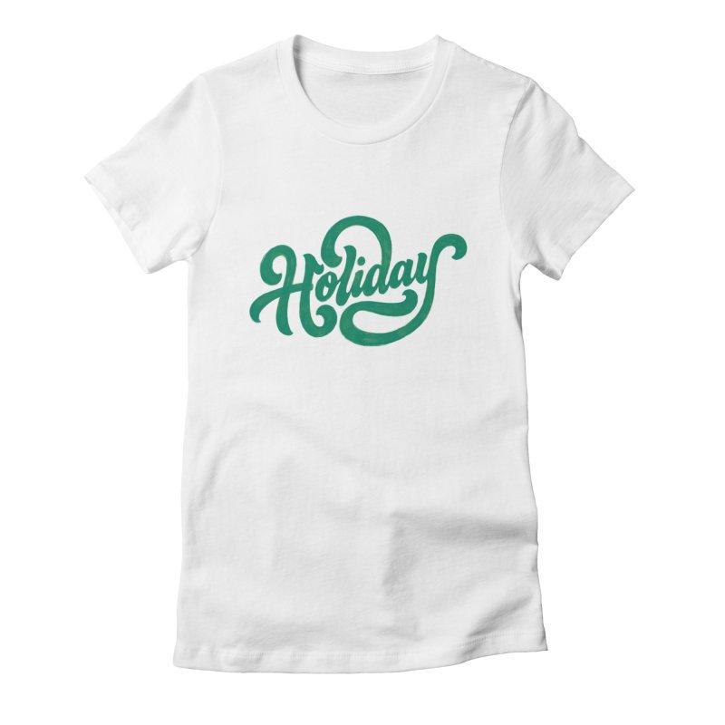 Standard Festivity Uniform Women's Fitted T-Shirt by dandrawnthreads