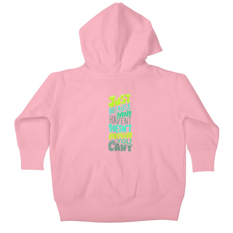 Try New Things Kids Baby Zip-Up Hoody by dandrawnthreads
