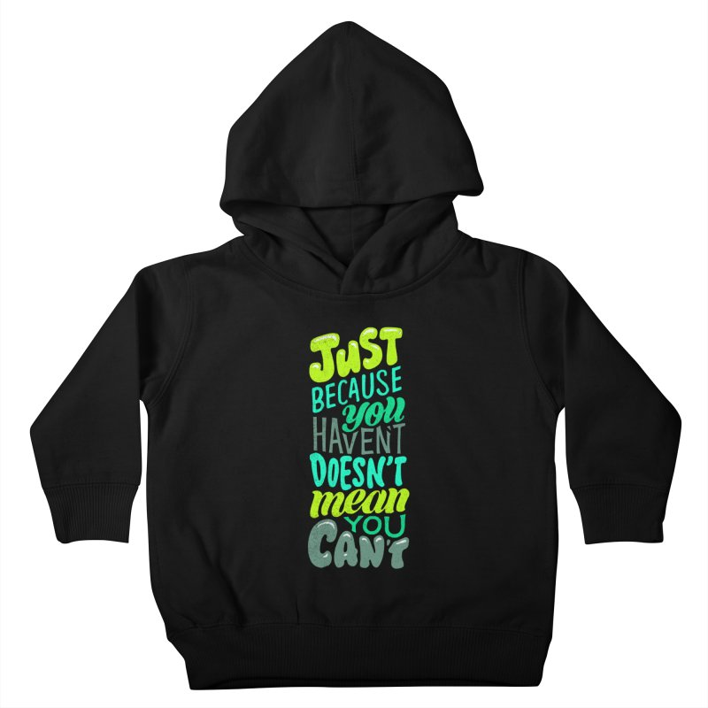 Try New Things Kids Toddler Pullover Hoody by dandrawnthreads