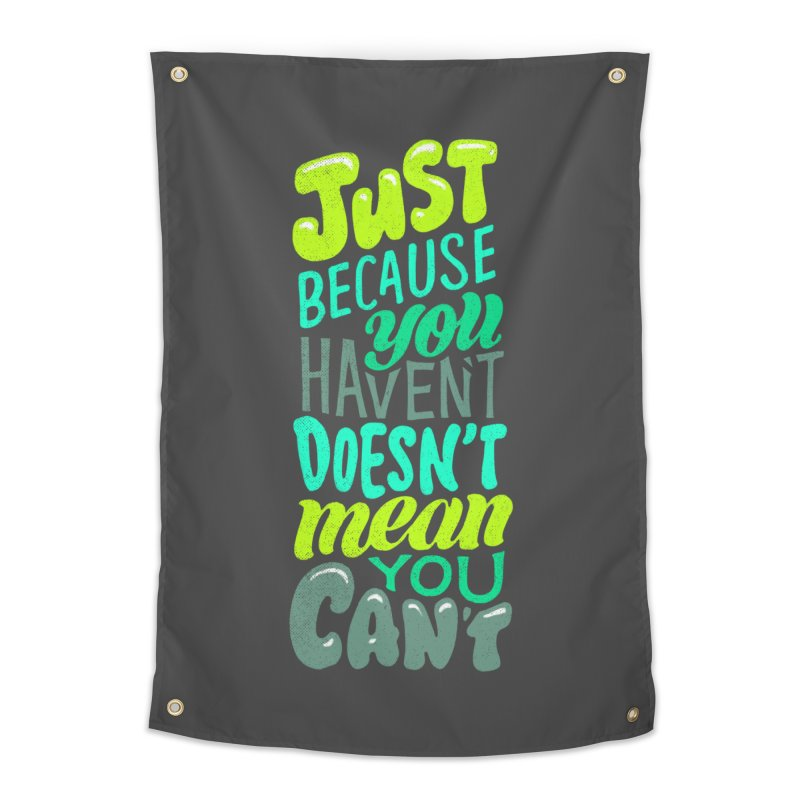 Try New Things Home Tapestry by dandrawnthreads