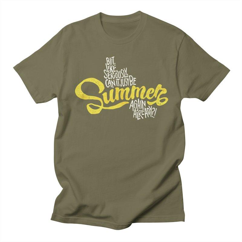 Beach Season Women's Regular Unisex T-Shirt by dandrawnthreads