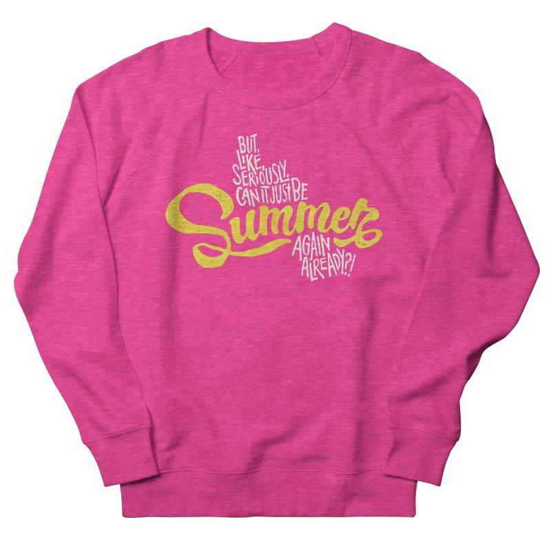 Beach Season Women's Sweatshirt by dandrawnthreads