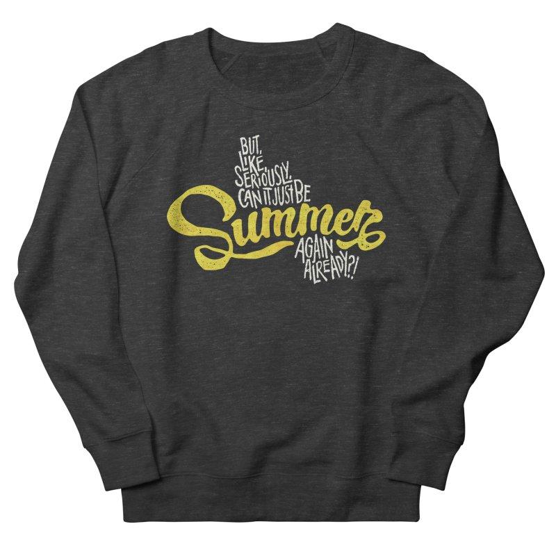 Beach Season Men's Sweatshirt by dandrawnthreads
