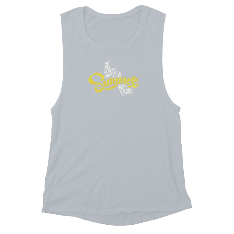 Beach Season Women's Muscle Tank by dandrawnthreads