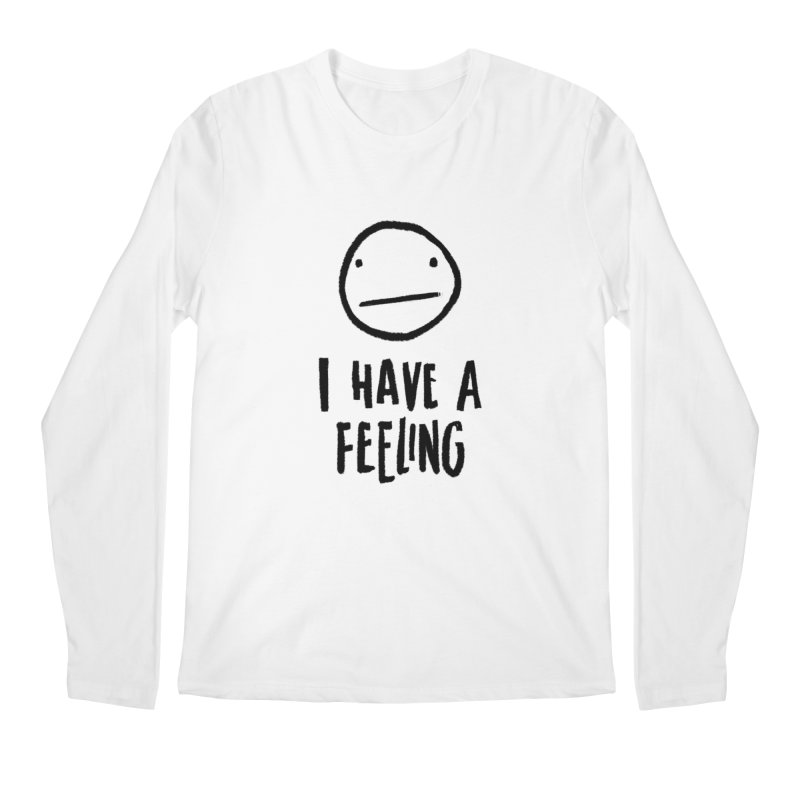 Neutral Face Men's Longsleeve T-Shirt by dandrawnthreads