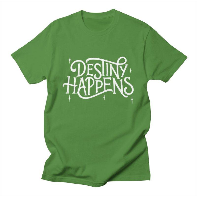 Destiny Happens! Men's Regular T-Shirt by dandrawnthreads