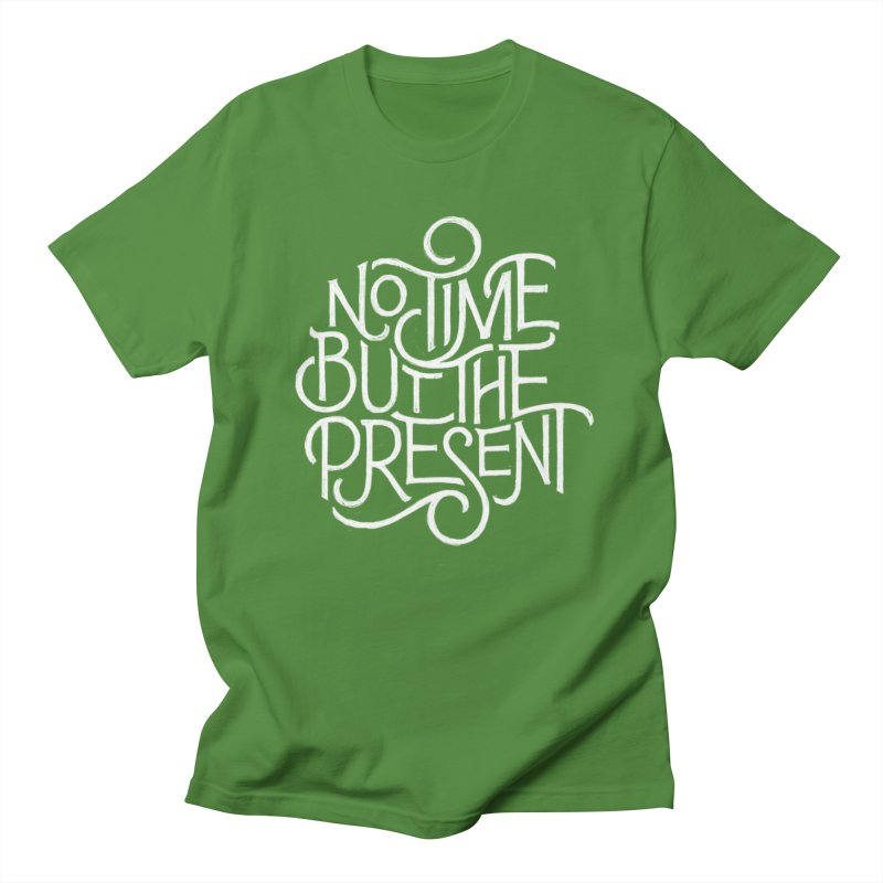 No Time But The Present Men's T-Shirt by dandrawnthreads