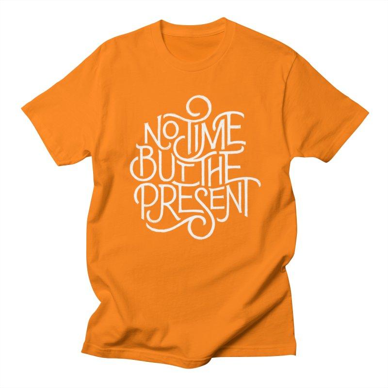 No Time But The Present Men's Regular T-Shirt by dandrawnthreads