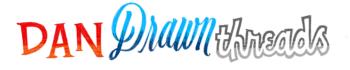 dandrawnthreads Logo