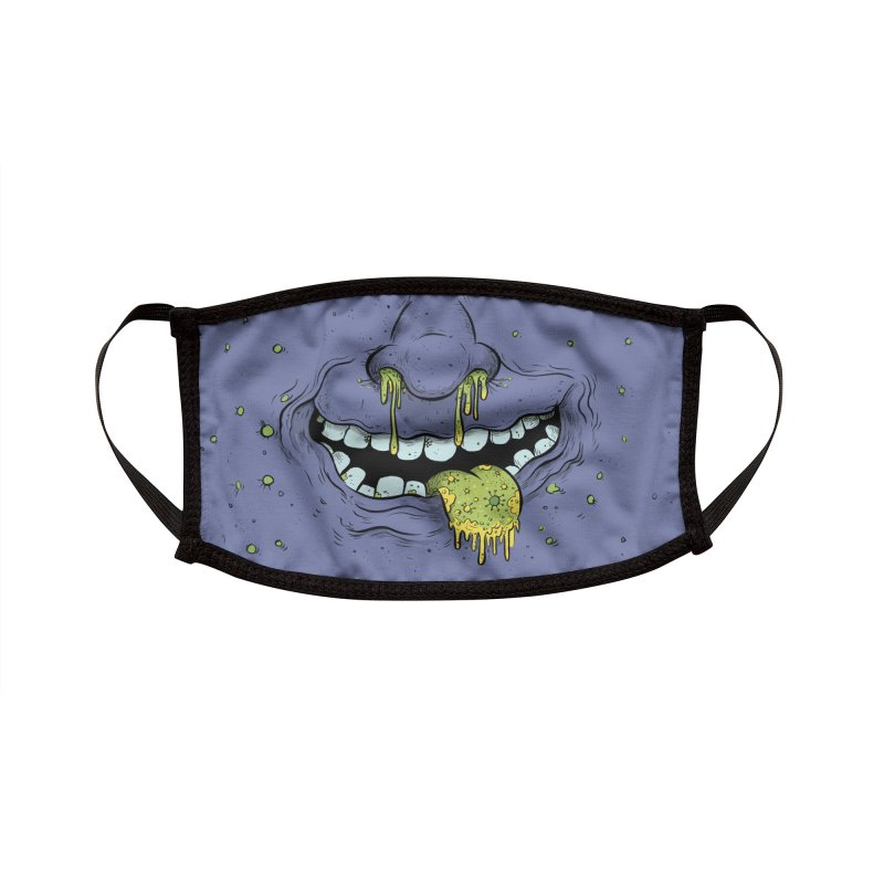 Snotty Kiss Accessories Face Mask by Danesh's Artist Shop