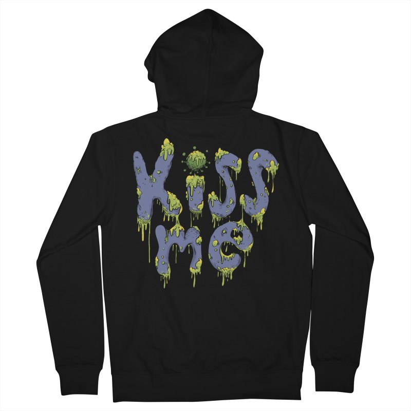 Snotty Kiss Men's Zip-Up Hoody by Danesh's Artist Shop