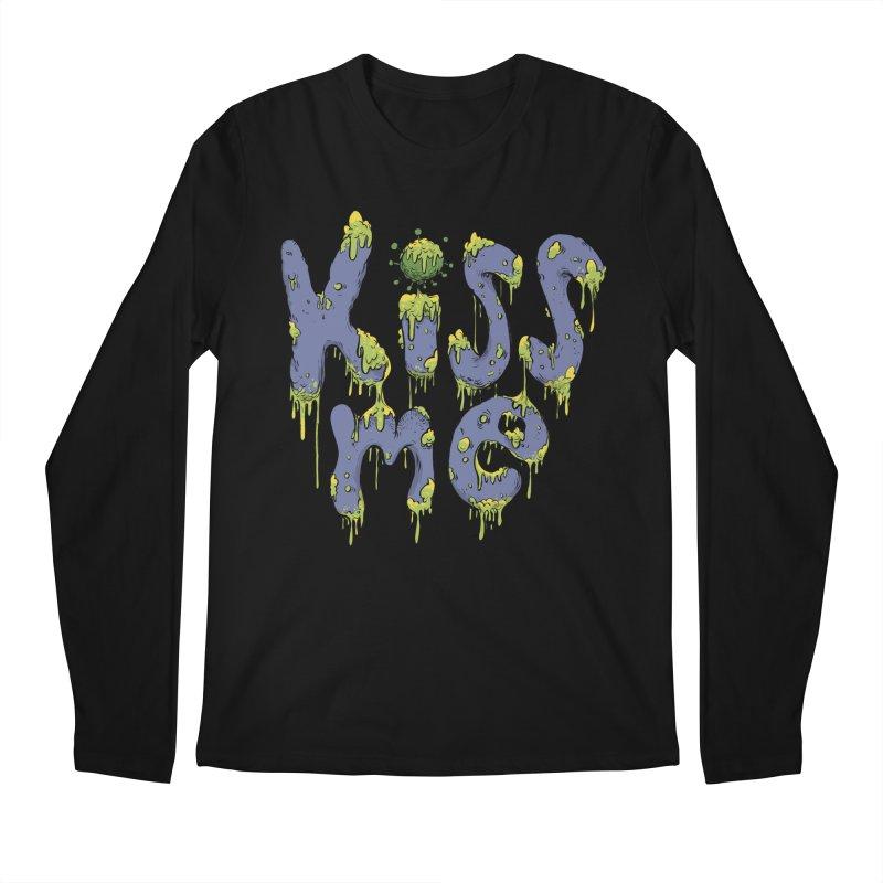 Snotty Kiss Men's Longsleeve T-Shirt by Danesh's Artist Shop