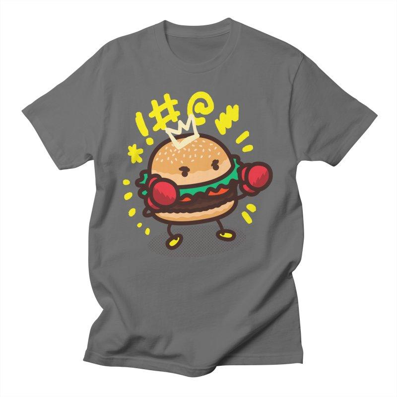 Fighting Burger Men's T-Shirt by Danger Huskie Danger Team