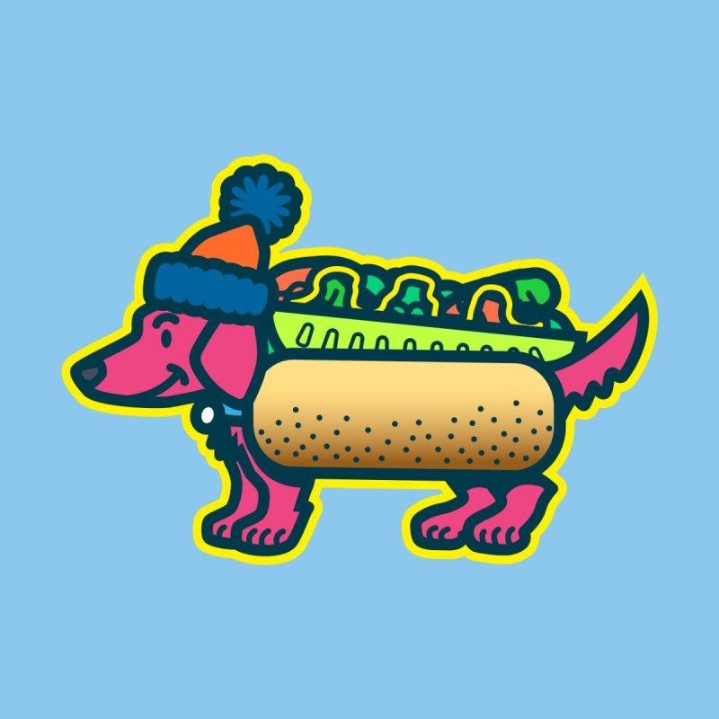 Da Chicago Mustard Dog Men's T-Shirt by Danger Huskie Danger Team
