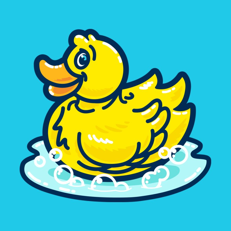 Rubber Duckie Men's T-Shirt by Danger Huskie Danger Team