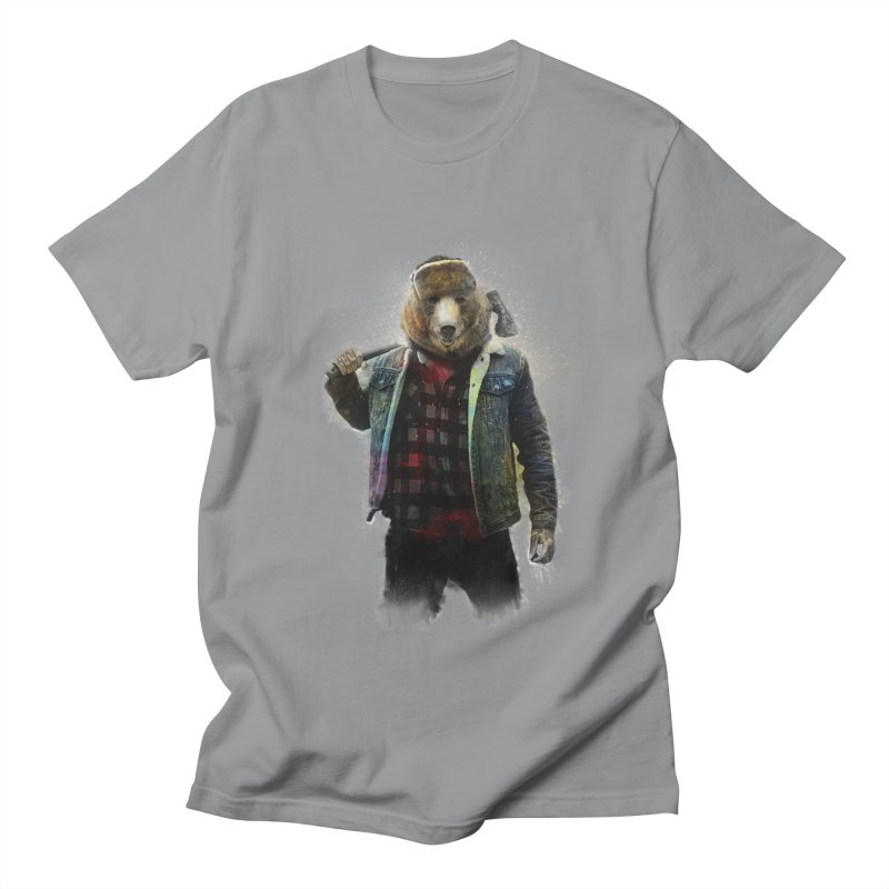 Blizzard Bear Men's Regular T-Shirt by daniac's Artist Shop