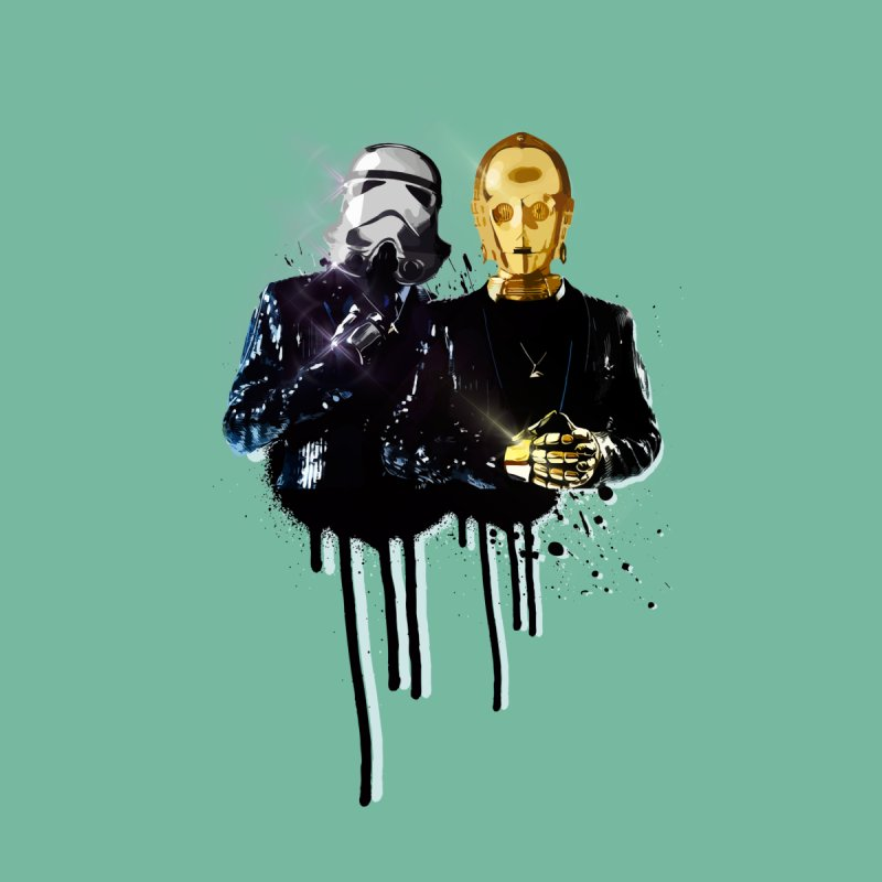 Daft Force Home Fine Art Print by daniac's Artist Shop