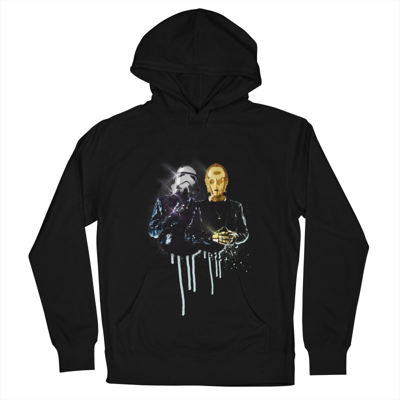 Daft Force Women's French Terry Pullover Hoody by daniac's Artist Shop