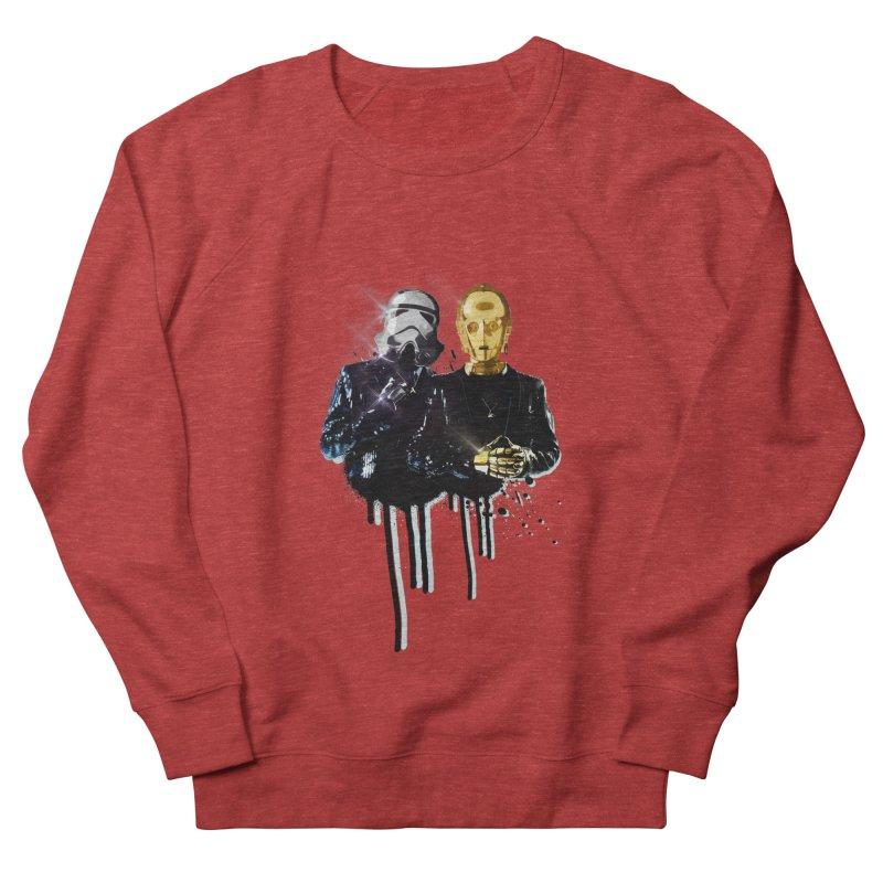 Daft Force Men's French Terry Sweatshirt by daniac's Artist Shop