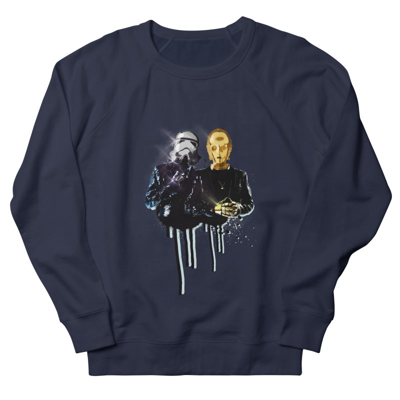 Daft Force Men's French Terry Sweatshirt by daniac's Artist Shop