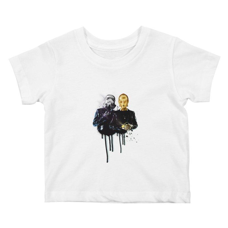 Daft Force Kids Baby T-Shirt by daniac's Artist Shop
