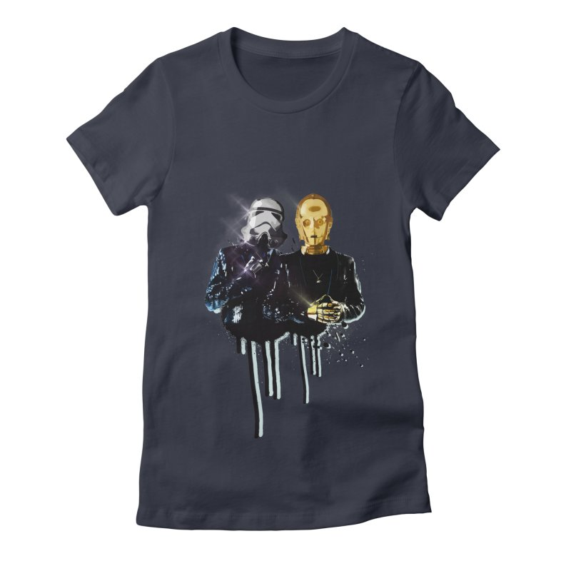 Daft Force Women's Fitted T-Shirt by daniac's Artist Shop