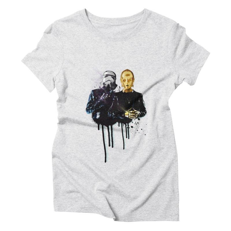 Daft Force Women's Triblend T-Shirt by daniac's Artist Shop