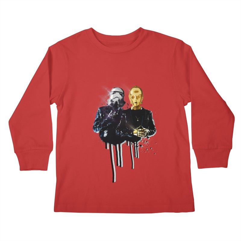 Daft Force Kids Longsleeve T-Shirt by daniac's Artist Shop