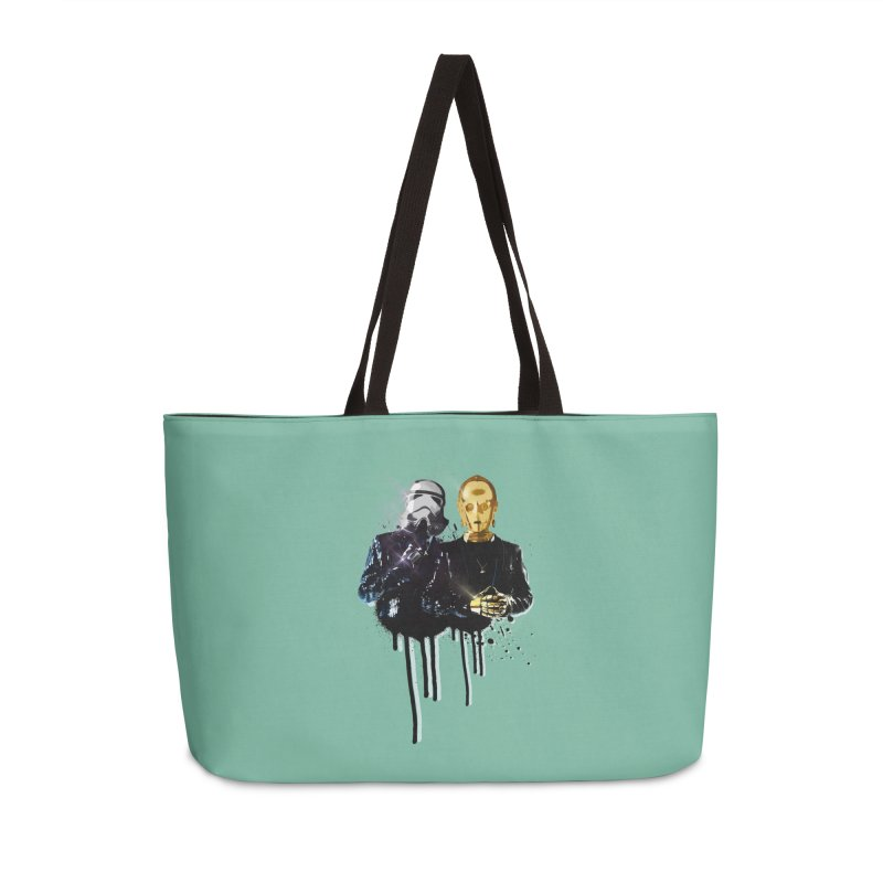 Daft Force Accessories Weekender Bag Bag by daniac's Artist Shop