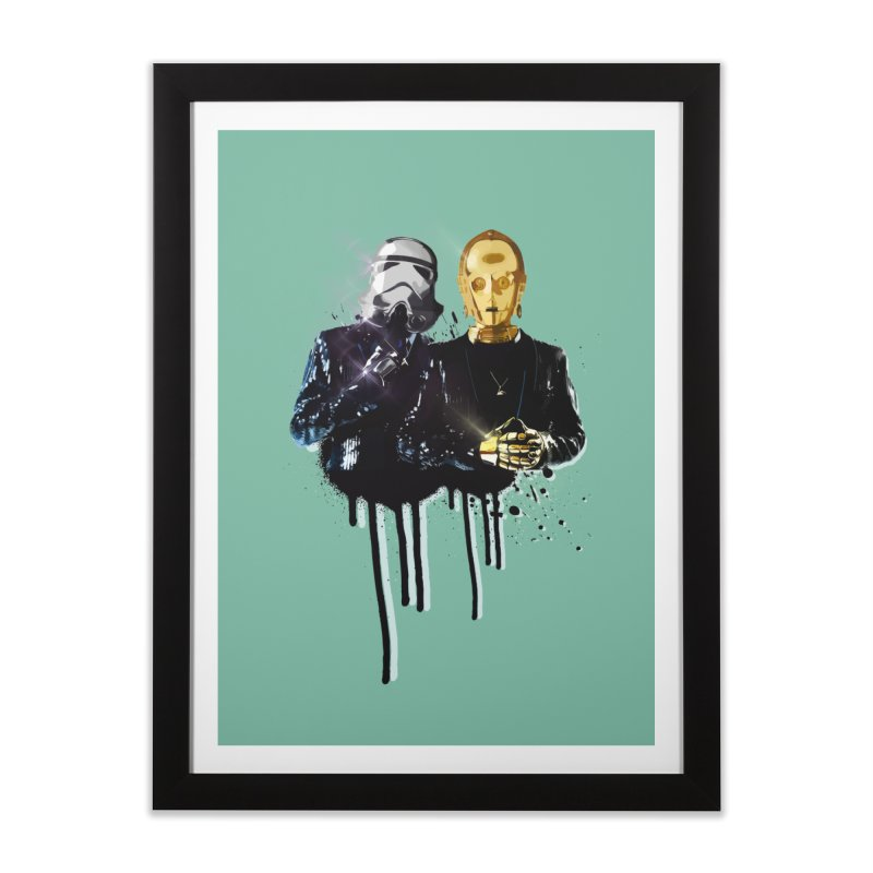 Daft Force Home Framed Fine Art Print by daniac's Artist Shop