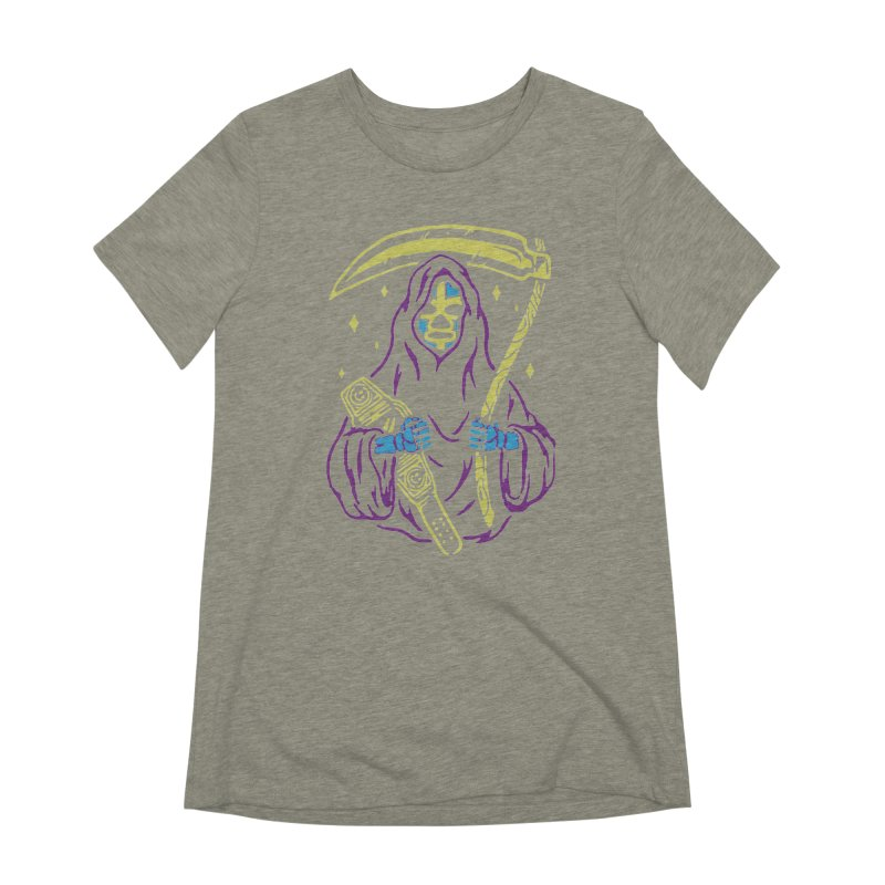 The death always win Women's Extra Soft T-Shirt by daniac's Artist Shop
