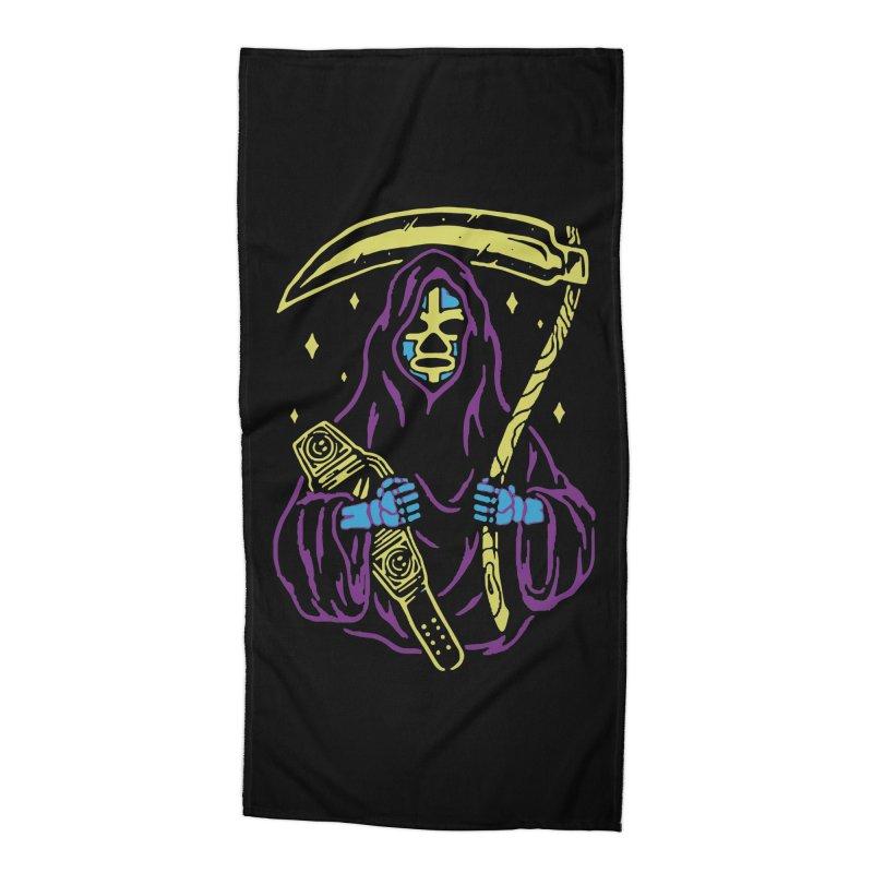The death always win Accessories Beach Towel by daniac's Artist Shop