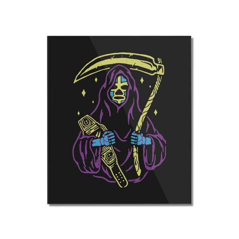 The death always win Home Mounted Acrylic Print by daniac's Artist Shop