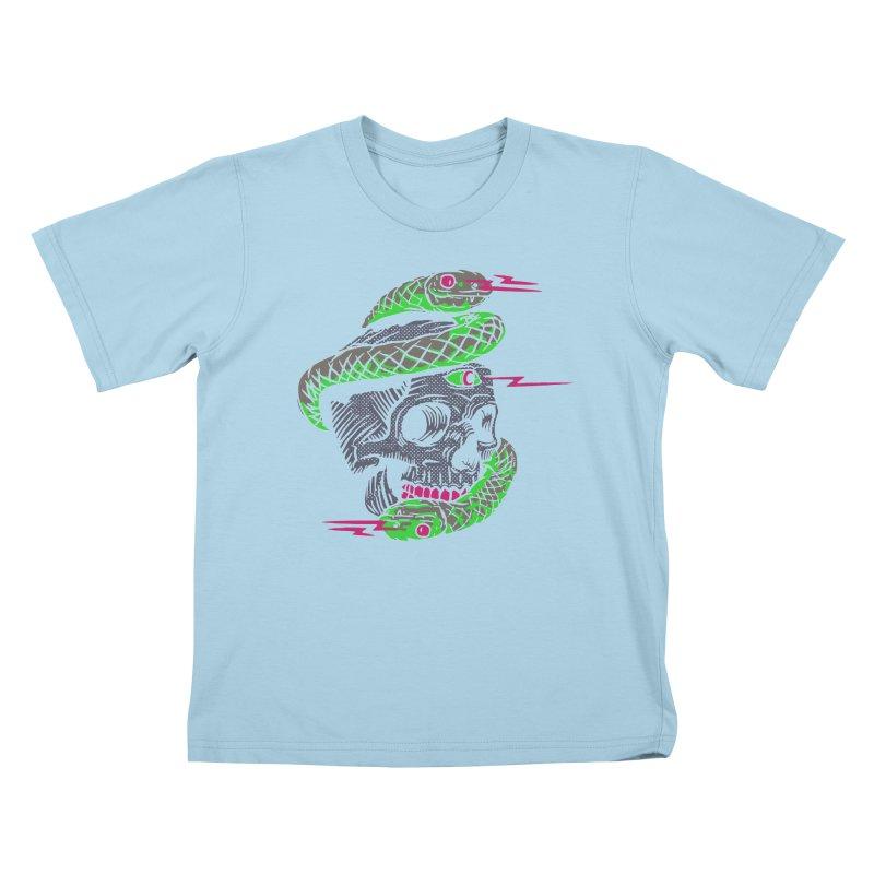 Look to my eyes Kids T-Shirt by daniac's Artist Shop