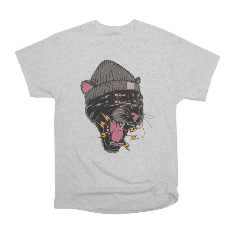 Urban panther Women's Heavyweight Unisex T-Shirt by daniac's Artist Shop