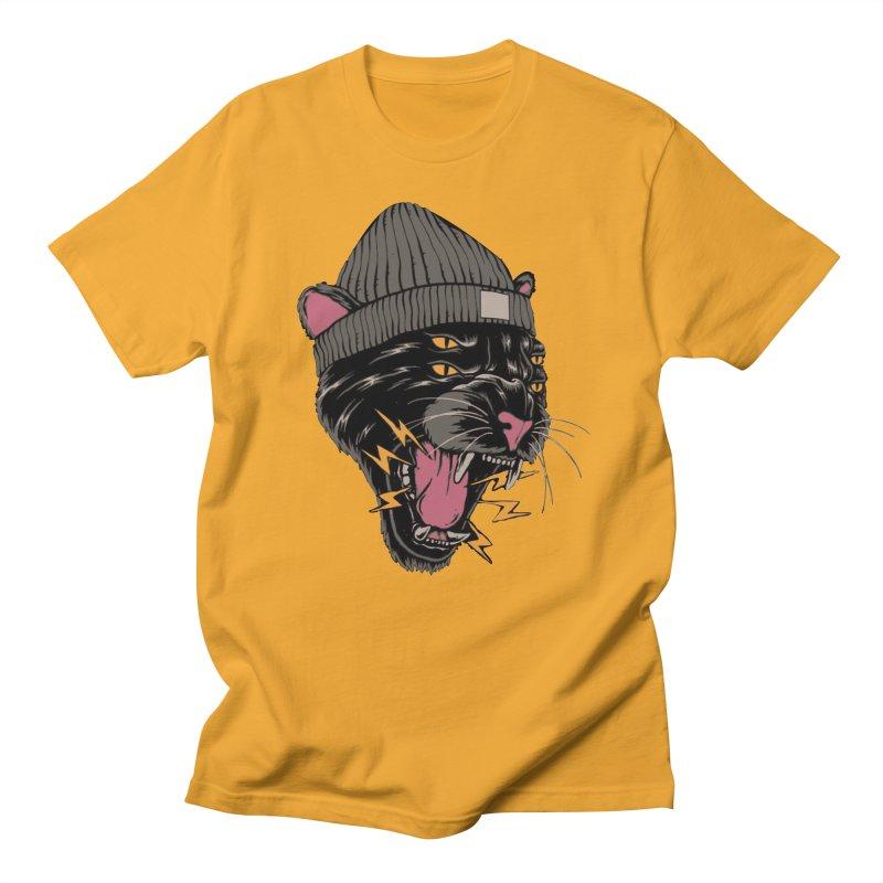 Urban panther Men's Regular T-Shirt by daniac's Artist Shop